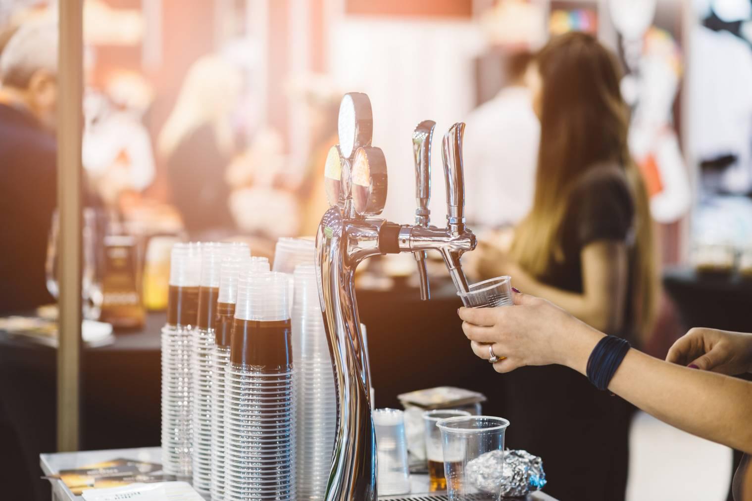 vente d'alcool débit temporaire