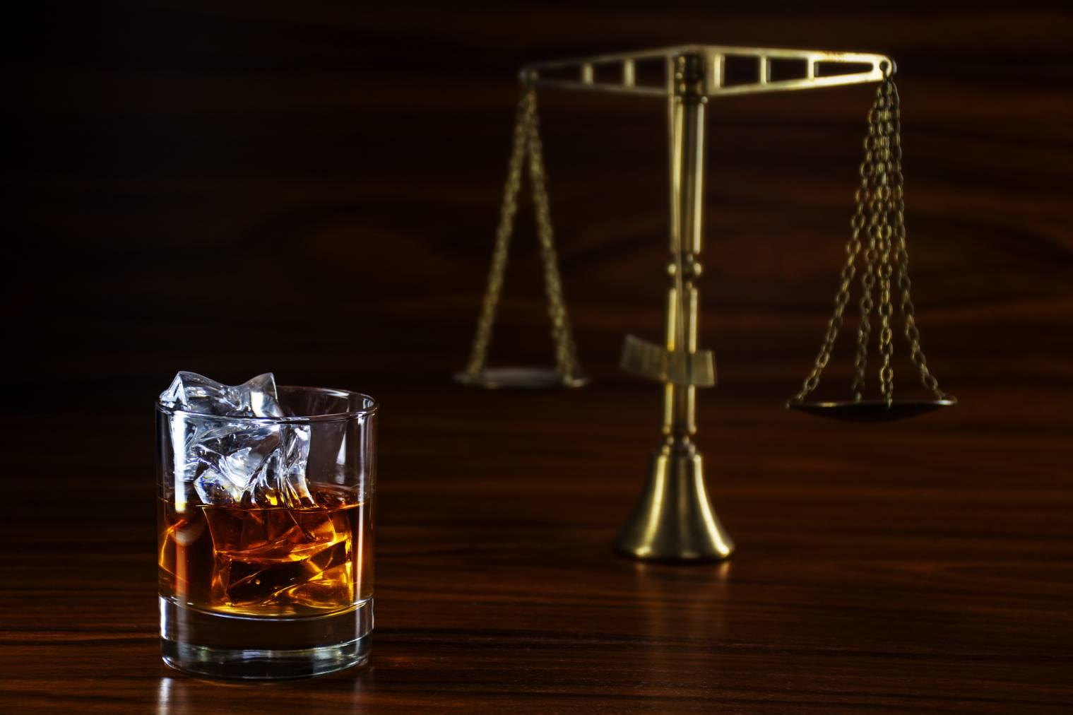 justice débit de boissons