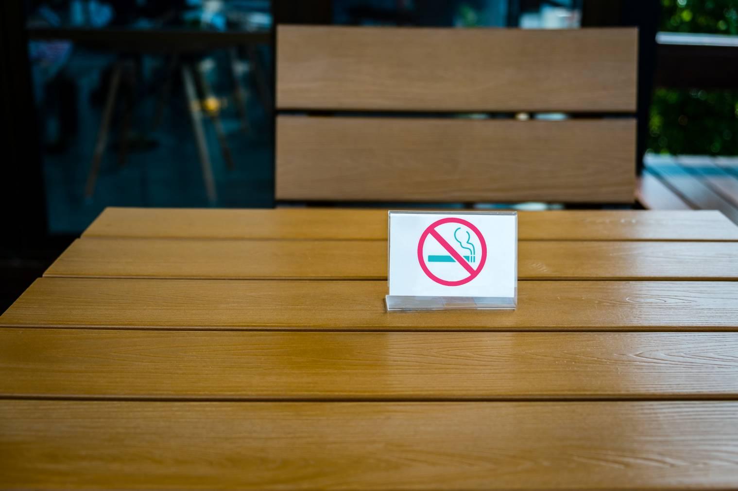 affichage interdiction de fumer