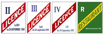 Les licences d'alcool