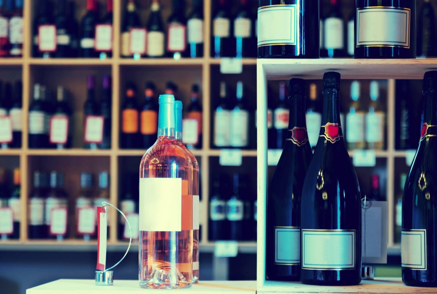 vente d'alcool